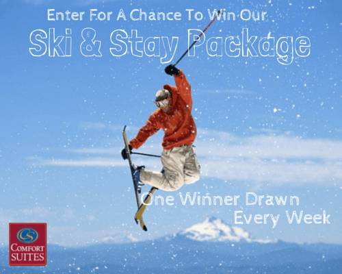 Ski and Stay Package Promotion
