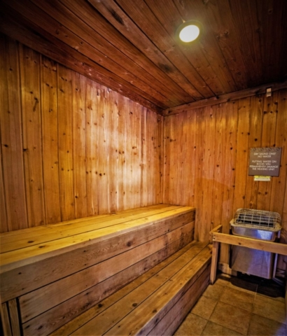 2018 sauna